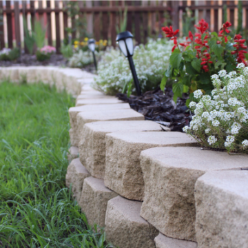 Curved_Classic_Wall_edge_with_flower_garden