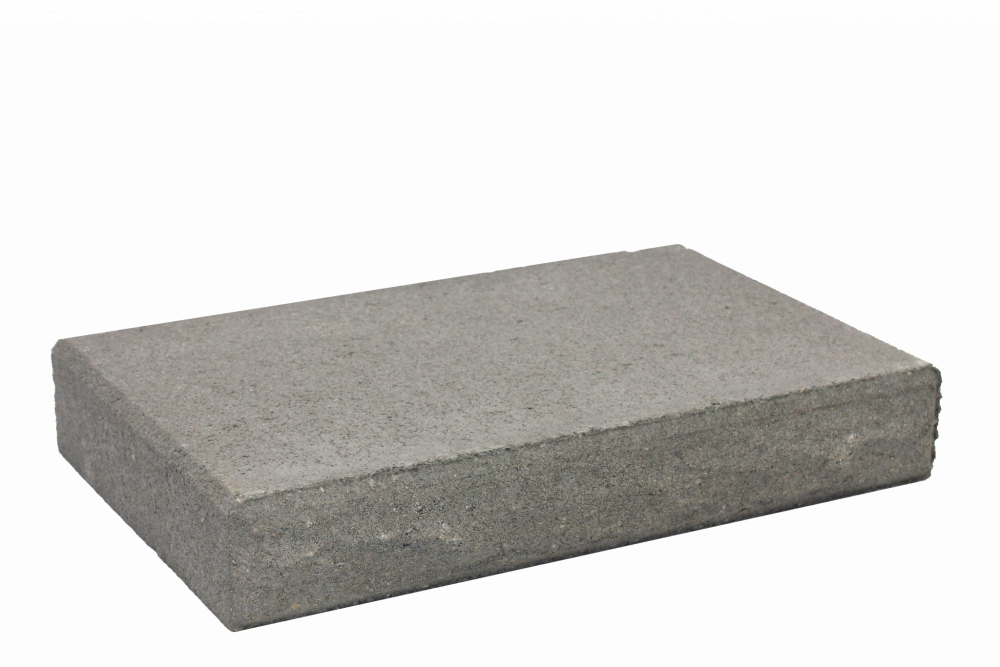 TrendStone_Retaining_Wall_Capping_Unit_Charcoal