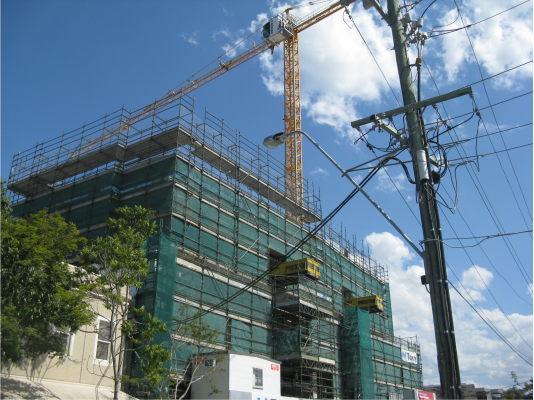 Quikblock_in_construction_at_a_commercial_building_site_in_Brisbane