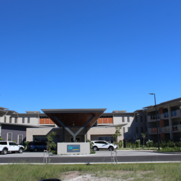 Ozcare_Aged_Care_Facility_at_Hervey_Bay_with_smooth_rendered_finishes