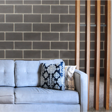 Charcoal_smooth_block_interior_feature_wall