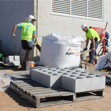 Construction_of_Hynes_Timber_Plant_Using_Apex_Masonry_Blocks_and_Cement