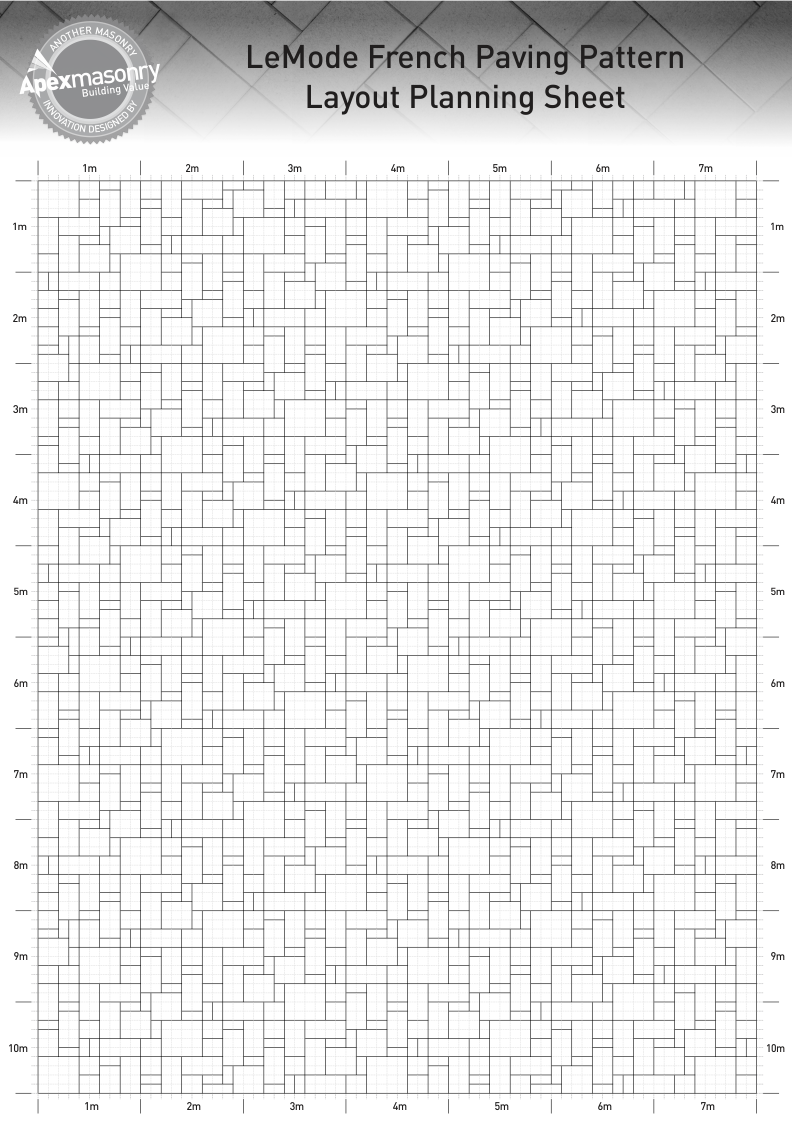 ayout_Planning_Sheet_A3_of_the_French_Paving_Pattern